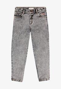 TINYCOTTONS - TINY BAGGY  - Straight leg jeans - snowy black - 3