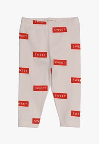 TINYCOTTONS - SWEET PANT BABY - Legíny - pearl/red - 0