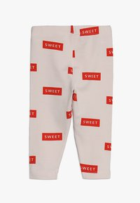 TINYCOTTONS - SWEET PANT BABY - Legíny - pearl/red - 1