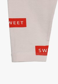 TINYCOTTONS - SWEET PANT BABY - Legíny - pearl/red - 4