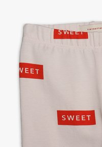 TINYCOTTONS - SWEET PANT BABY - Legíny - pearl/red - 2