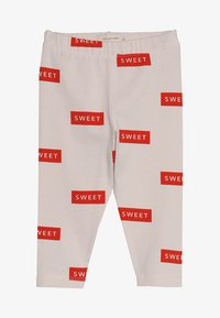 TINYCOTTONS - SWEET PANT BABY - Legíny - pearl/red - 3