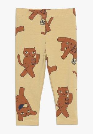 CATS PANT - Leggings - sand/brown