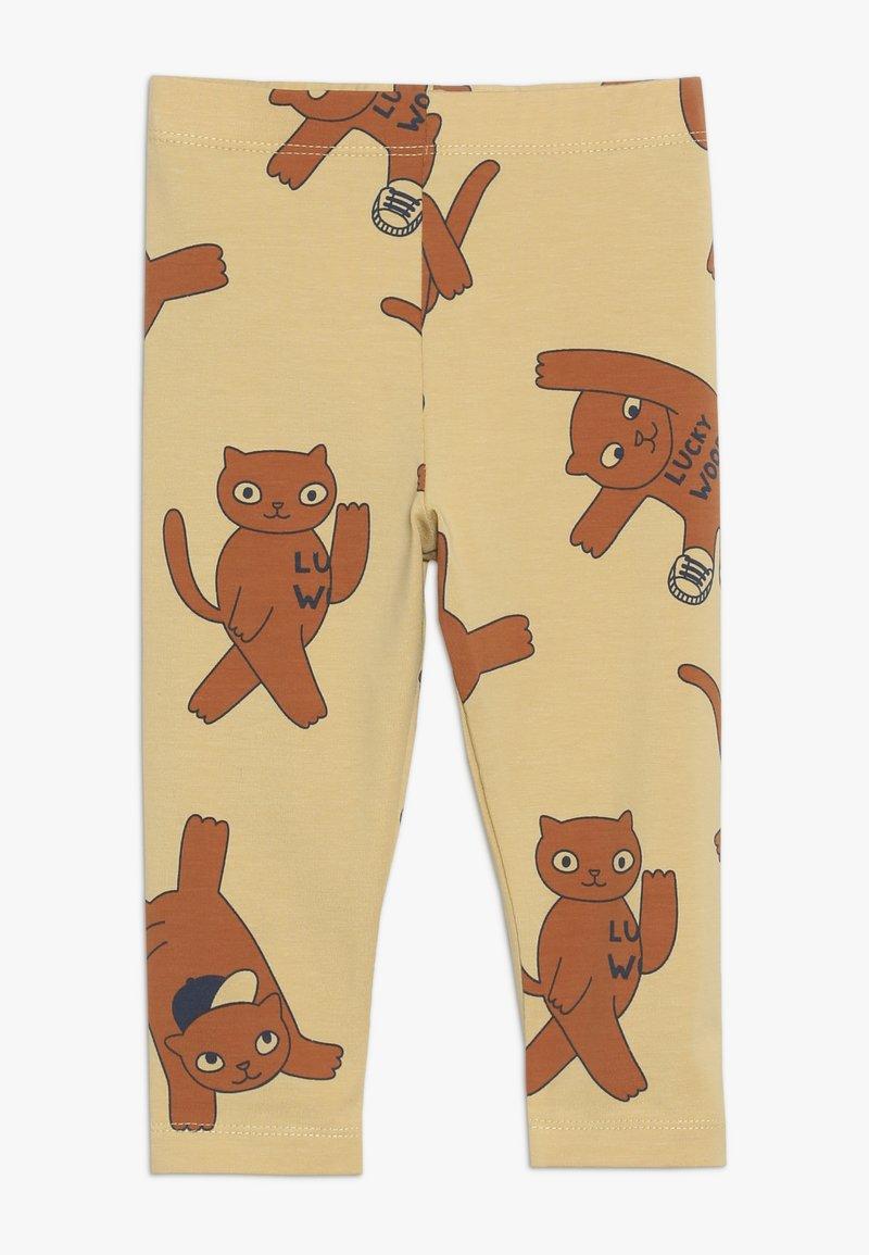 TINYCOTTONS - CATS PANT - Leggings - Hosen - sand/brown