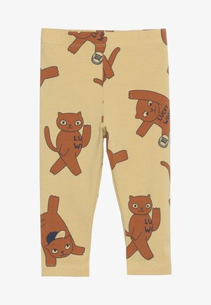 CATS PANT - Leggings - sand/brown