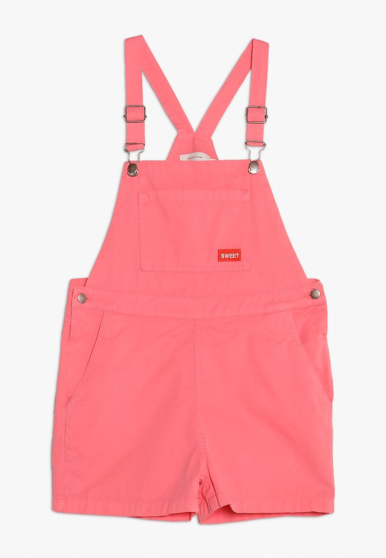 TINYCOTTONS - SWEET SHORT - Dungarees - rose/red