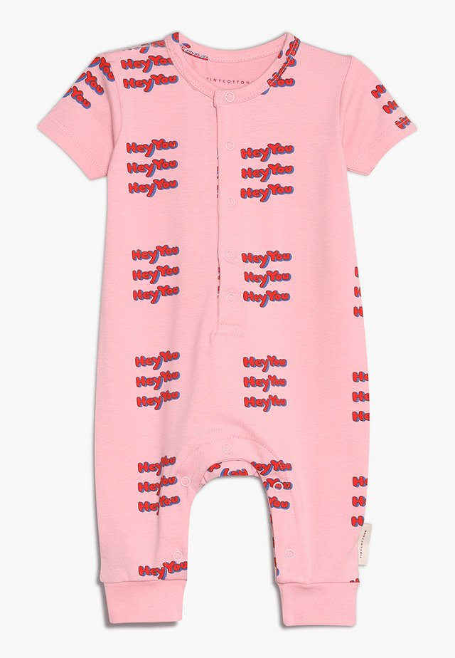 HEY YOU ONE PIECE BABY - Overal - pink/red