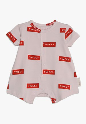 RELAXED ONEPIECE BABY - Jumpsuit - pearl/red
