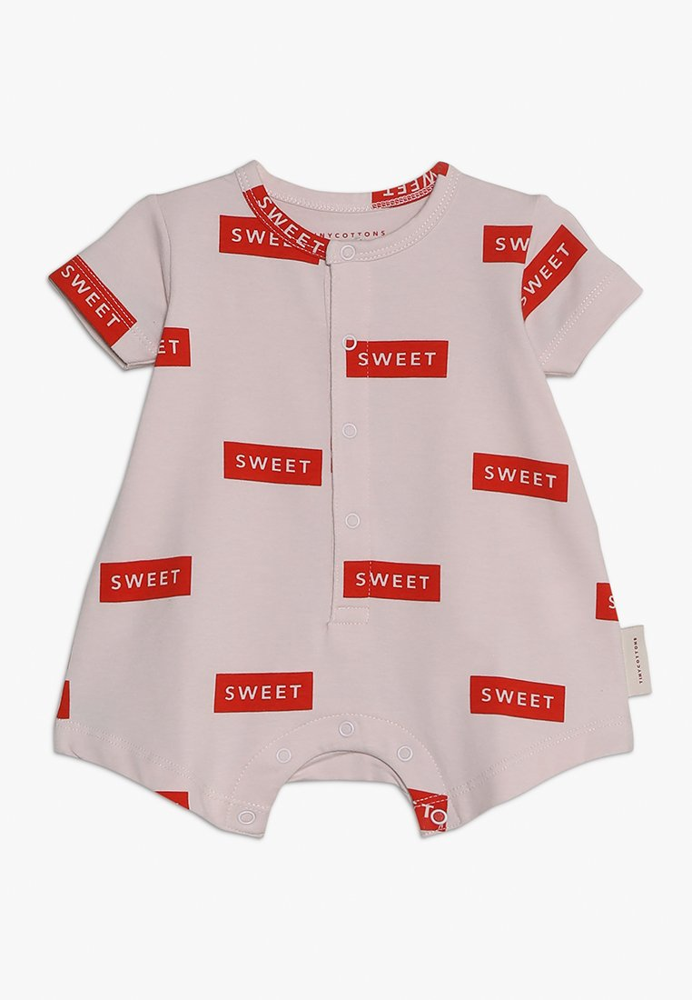 TINYCOTTONS - RELAXED ONEPIECE BABY - Jumpsuit - pearl/red