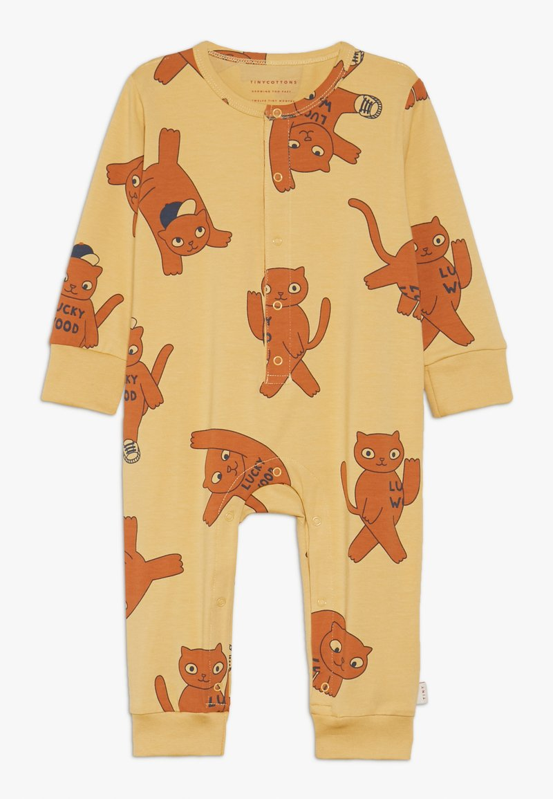 TINYCOTTONS - CATS ONE PIECE - Jumpsuit - sand/brown