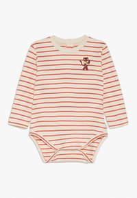 TINYCOTTONS - STRIPES  - Jumpsuit - light cream/red - 0