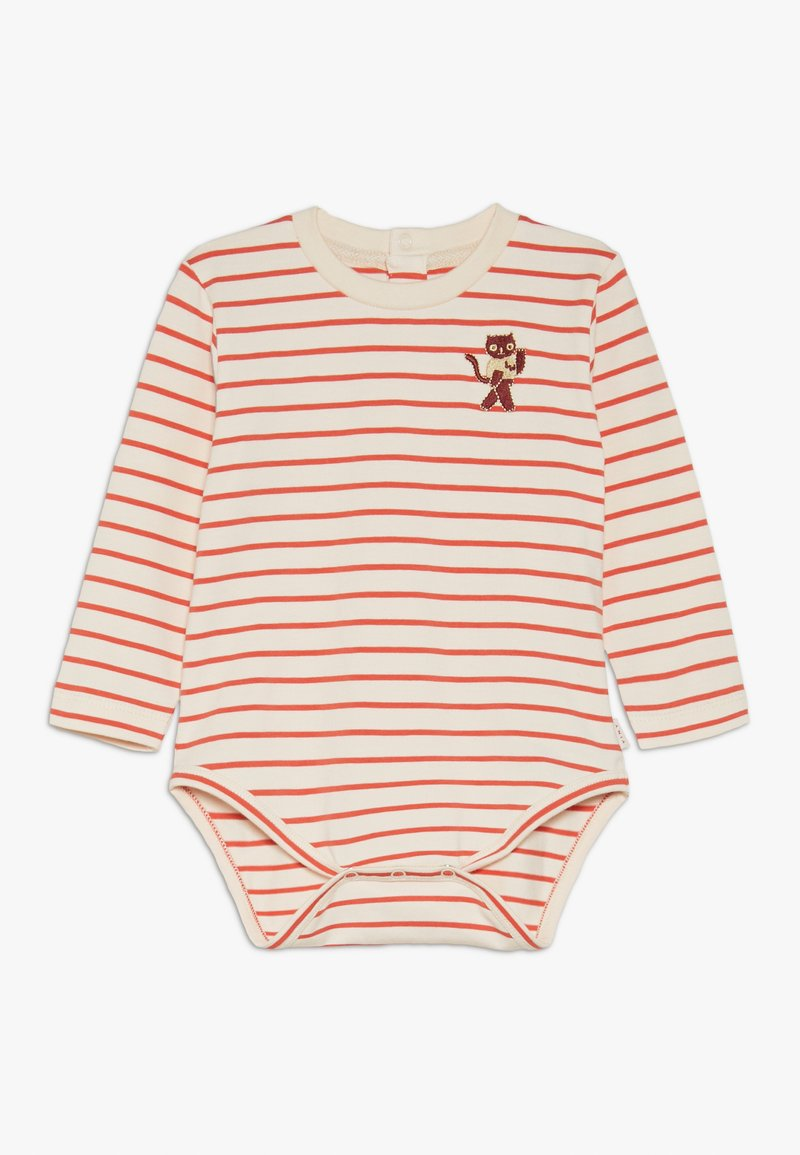TINYCOTTONS - STRIPES  - Jumpsuit - light cream/red