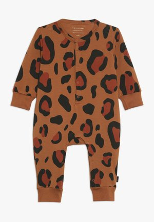 ANIMAL PRINT ONE PIECE - Jumpsuit - brown/dark brown