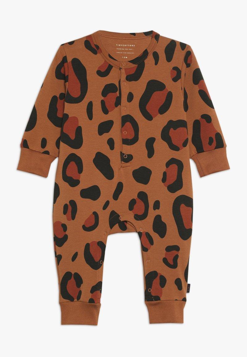 TINYCOTTONS - ANIMAL PRINT ONE PIECE - Jumpsuit - brown/dark brown