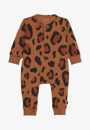 ANIMAL PRINT ONE PIECE - Jumpsuit - brown/dark brown