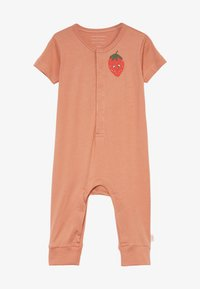 TINYCOTTONS - STRAWBERRY ONE PIECE - Overal - tan/red - 3