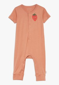 TINYCOTTONS - STRAWBERRY ONE PIECE - Overal - tan/red - 0