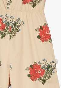 TINYCOTTONS - FLOWERS  - Overal - cappuchino/red - 4