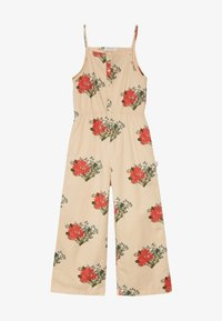 TINYCOTTONS - FLOWERS  - Overal - cappuchino/red - 3