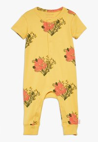 TINYCOTTONS - FLOWERS ONE PIECE - Overal - yellow/light red - 0