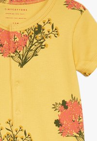 TINYCOTTONS - FLOWERS ONE PIECE - Overal - yellow/light red - 2