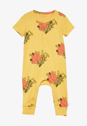 FLOWERS ONE PIECE - Overall / Jumpsuit /Buksedragter - yellow/light red