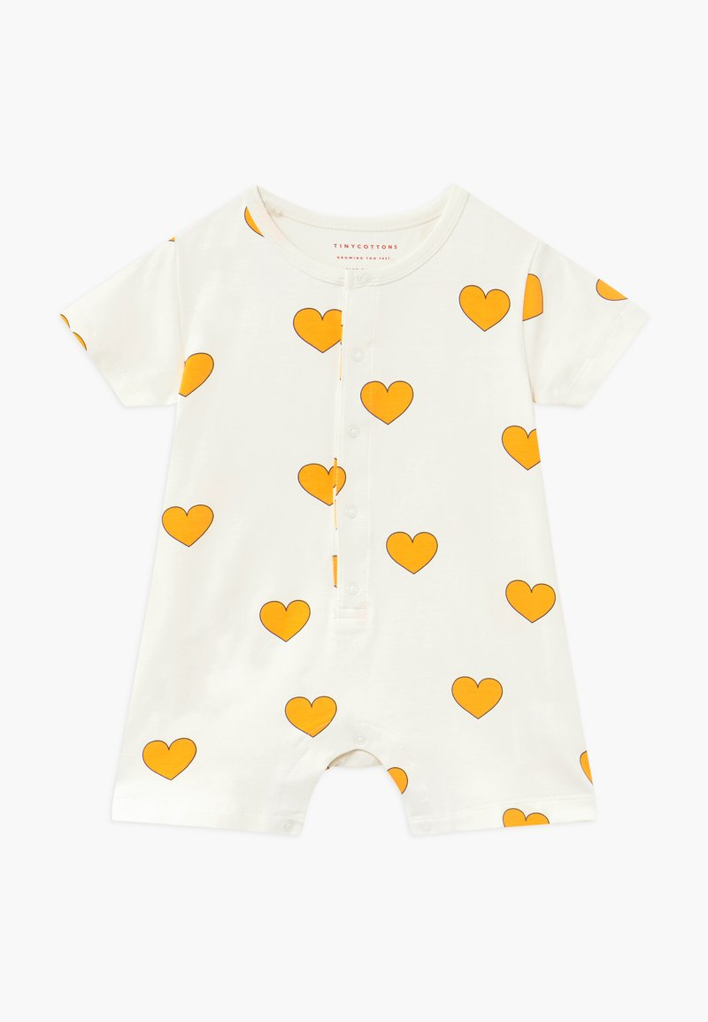 TINYCOTTONS - HEARTS ON PIECE - Jumpsuit - off-white/yellow