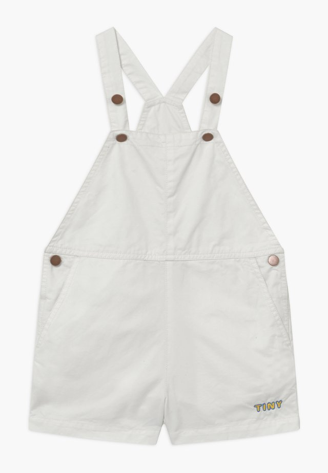DENIM ROMPER - Snekkerbukse - off white