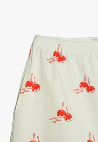 TINYCOTTONS - CANDY APPLES SHORT SKIRT - Mini skirt - off-white/red - 3
