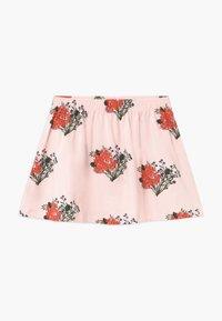 TINYCOTTONS - FLOWERS - Áčková sukně - light pink/red - 0