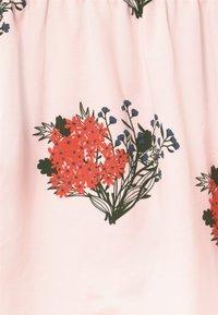 TINYCOTTONS - FLOWERS - Áčková sukně - light pink/red - 3