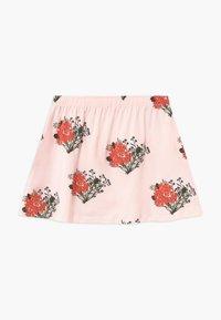 TINYCOTTONS - FLOWERS - Áčková sukně - light pink/red - 1