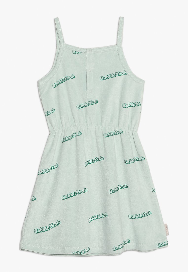 TINYCOTTONS - BUBBLE YEAH DRESS - Day dress - light mint/deep green