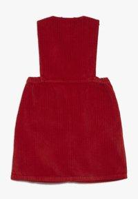 TINYCOTTONS - V NECK DRESS - Vestido informal - burgundy - 1