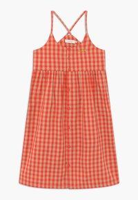 TINYCOTTONS - TINY VICHY - Košilové šaty - red/light pink - 0