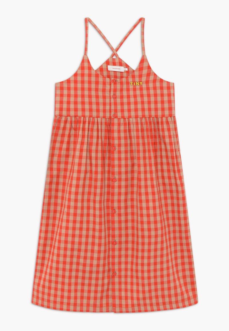 TINYCOTTONS - TINY VICHY - Košilové šaty - red/light pink