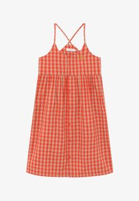 TINYCOTTONS - TINY VICHY - Košilové šaty - red/light pink - 2