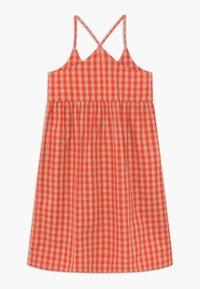 TINYCOTTONS - TINY VICHY - Košilové šaty - red/light pink - 1