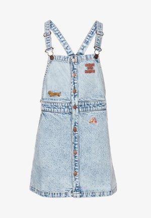 DRESS - Denimové šaty - snowy blue