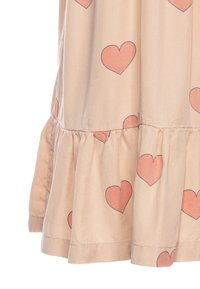 TINYCOTTONS - HEARTS DRESS - Vestido informal - nude/red - 2