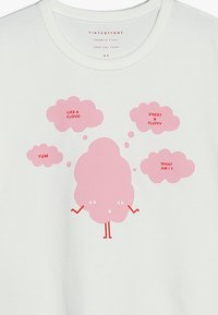 TINYCOTTONS - SWEET FLUFFY TEE - T-shirt print - off white/pink - 3