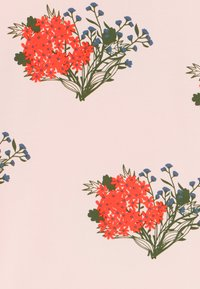 TINYCOTTONS - FLOWERS  - Triko s potiskem - light pink/red - 3