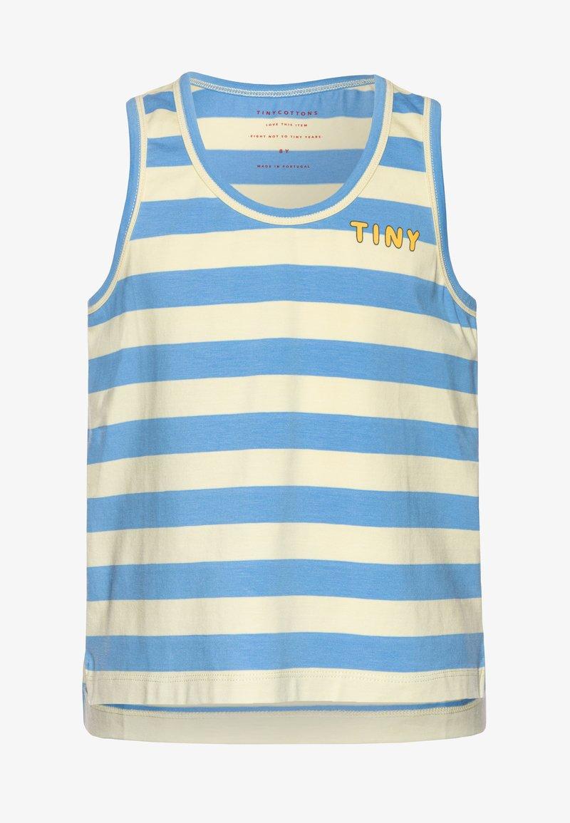 TINYCOTTONS - STRIPES - Top - lemonade/ blue