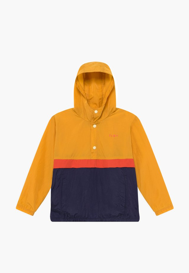 COLOUR BLOCK  - Välikausitakki - yellow/navy
