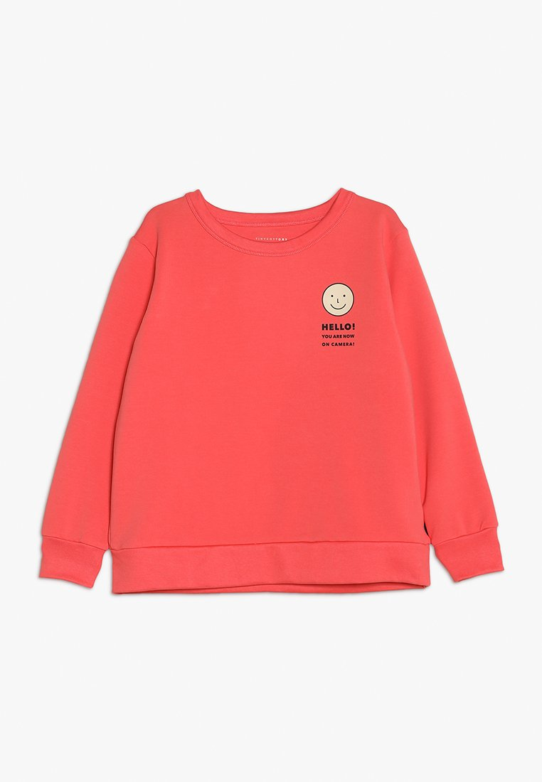 TINYCOTTONS - SMILE - Sudadera - light red/cream