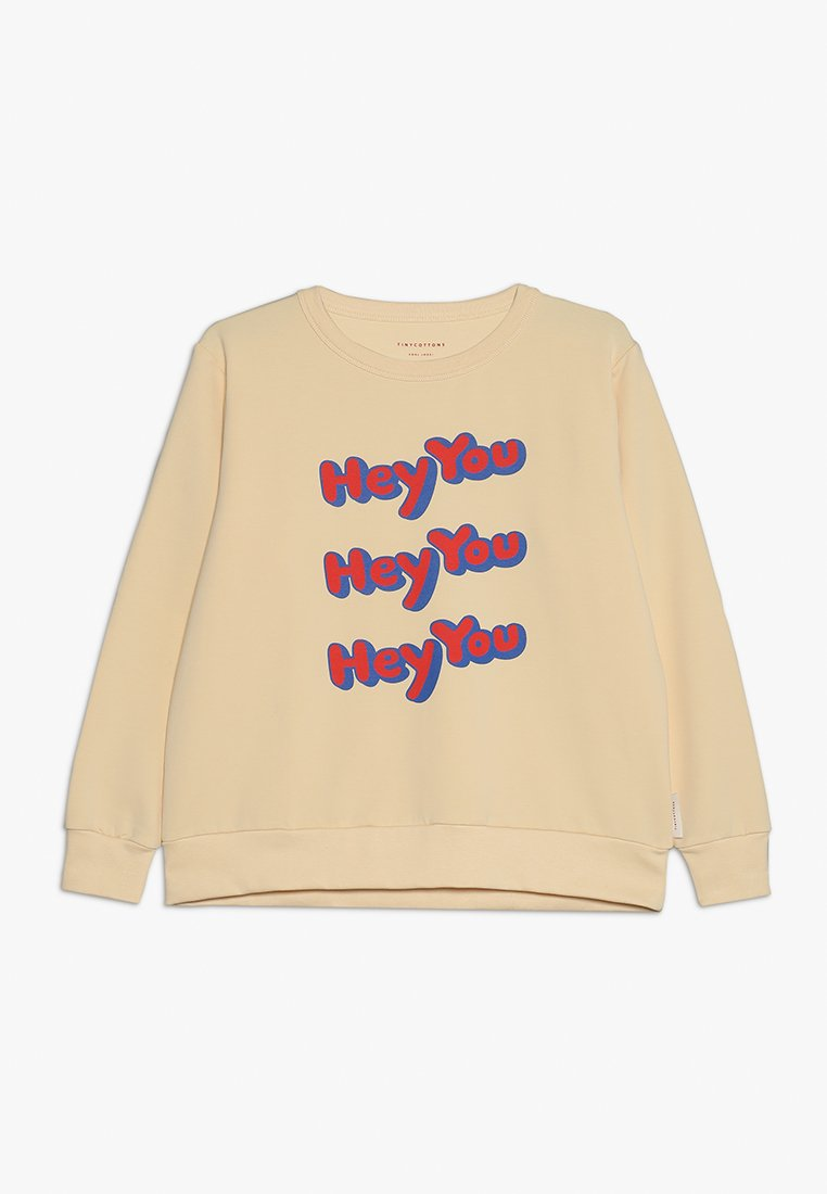 TINYCOTTONS - HEY YOU - Sudadera - cream/red