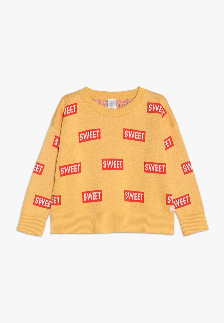 TINYCOTTONS - SWEET - Jersey de punto - canary/red