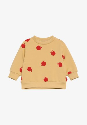 APPLES SWEATSHIRT - Sweater - sand/burgundy
