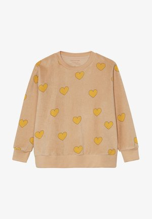 HEARTS  - Sweatshirts - nude/yellow