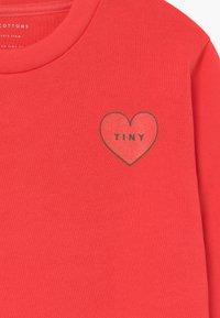 TINYCOTTONS - CROP - Mikina - light red - 3